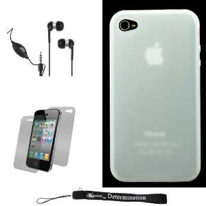 White Smooth Durable Protective Silicone Skin Cover Case for New Apple