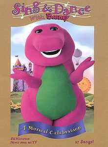 Barney   Sing and Dance With Barney DVD, 2004