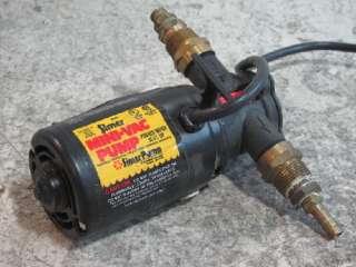 SIMER M40 MINI VAC PUMP,VACUUM,WATER,120VAC