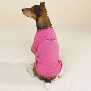 Sm. Pink Spicy Girl Dog T Shirt, #ZW434 S: Kitchen