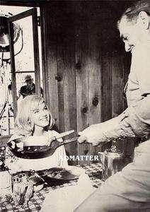 Marilyn Monroe Clark Gable Pin up Print Misfits Photo