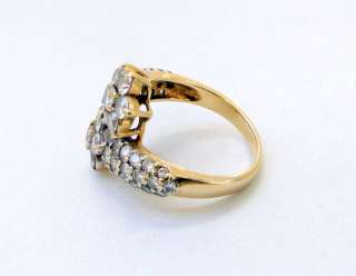 Designer 18 K solid gold Diamond ring jewelry