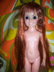 1969 Crissy 18 Growing Hair Doll Ideal Toy Co. NICE SHINY HAIR