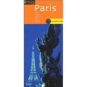 Imap Paris With Compass (9781841395265) Map Group Books