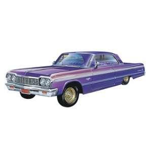 25 64 Impala Lowrider (Plastic Model Vehicle) Toys & Games