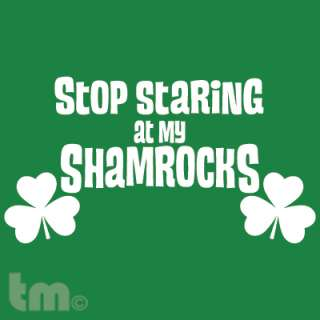 My Shamrocks St Patricks Day American Apparel T Shirt