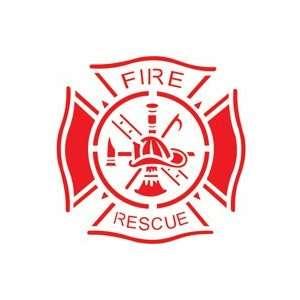 Tattoo Stencil   Fire Logo   #L245: Health & Personal Care