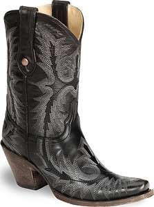 NIB Womens Corral G1909 Cowboy Boots Black