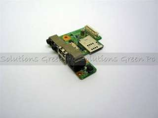 NEW Dell Latitude E5400 DC Jack Power USB Audio Board P/N C959C