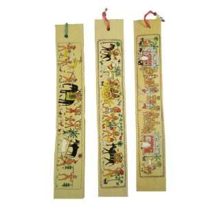 Gifts For Girls & Boys A Unique Set of 3 Large Handmade Bookmarks