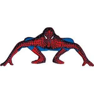 Spider Man Crouching Marvel Comics Embroidered Iron On