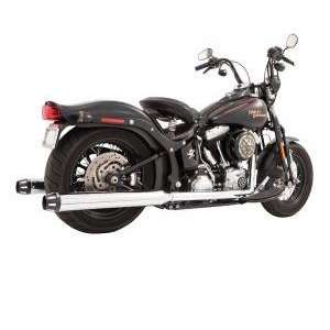 Tip Exhaust System for 2007 2012 Softail Models by Freedom Performance