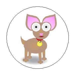 CHIHUAHUA Dog Puppy Cartoon Cute 1.25 MAGNET: Everything