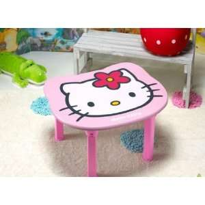 Cute Hello Kitty Face (Pink) Children Folding Table