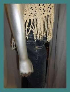 Womens Indigo DARK DENIM Ultra High Waist Button Fly CORSET JEANS