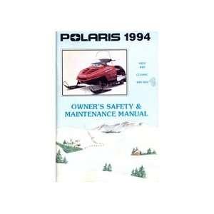Polaris 1994 INDV 440 Classic, 440 SKS Snowmobile Manual: Books