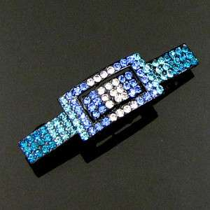 Item , 1 pc rhinestone crystal fashion hair barrette clip