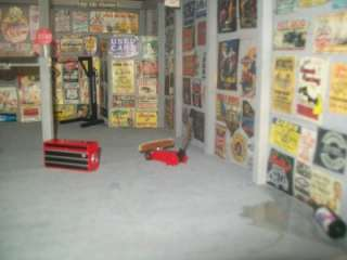 Custom Built 7 Car Garage 1/18 Scale 24X19X8