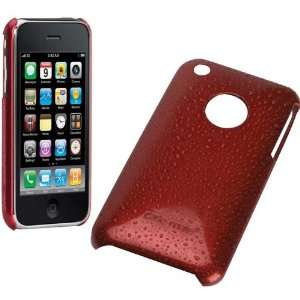 Mate Barely There Acrylic Case for Iphone 3G Royal Red Electronics