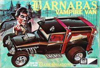 BARNABAS VAMPIRE VAN 1/25 MODEL KIT DARK SHADOWS