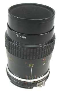 55mm f/2.8 Macro AI S Lens for FM, FE, N70, D70, D80, D300+++