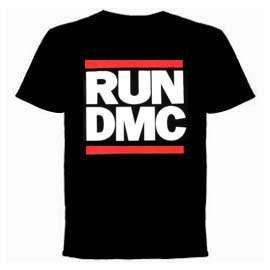Run DMC T shirt   Classic Logo, Official Merch New