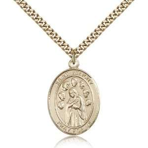 com Genuine IceCarats Designer Jewelry Gift Gold Filled St. Felicity