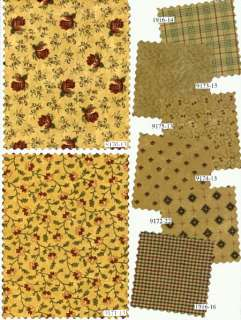 WINTER ROSE Quilt Squares / MODA Fabric CHARMS