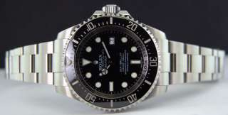ROLEX   2011   2012 44mm Stainless Deep Sea Sea Dweller Black Dial