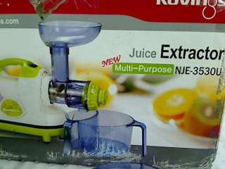 Kuvings GMPD3530U Multi Purpose Masticating Juicer, Lime