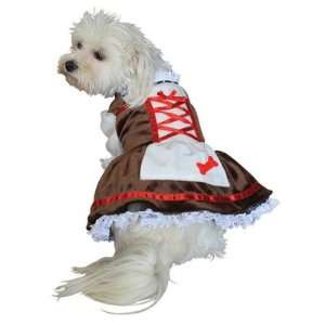 Anit Accessories AP1047 Beer Girl Dog Costume Size: Small