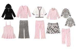 Gymboree Girls Tres Fabulous Top Pant Jumper NWT New Pink Black Size 2