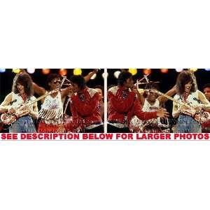 MICHAEL JACKSON VICTORY TOUR EVAN HALEN (2) RARE 8x10 FINE