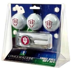 Indiana Hoosiers IU NCAA Kool Tool 3 Golf Ball Gift Packs