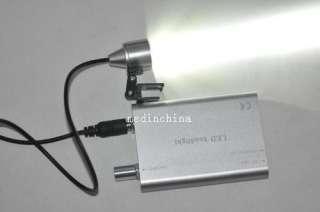 New Dental Binocular Loupes 3.5X 320mm Optical Glass Loupe + LED Head