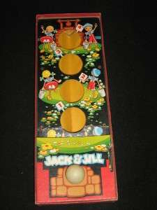 , dated 1948 Jack & Jill Target Game from Cadaco Ellis. The game