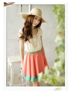 2012 Fashion Vintage Sweet Womens Ladies Girl Dresses Mini Dress
