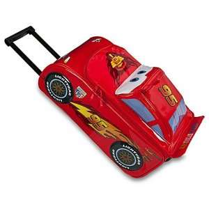 Cars Shaped Rolling Luggage Case [Lightning McQueen]: Toys & Games