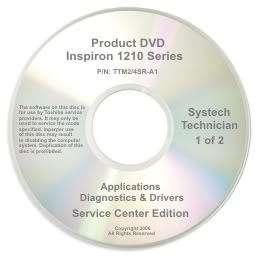 Dell Inspiron Mini 1210 Repair Restore Recovery CD DVD