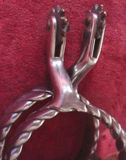 LOT x4 old SPURS West Western Horse Rider Tack Cowboy vintage Cowgirl