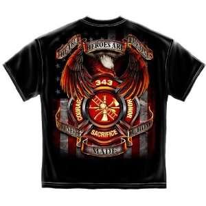 True Hero   Firefighter T Shirt: Sports & Outdoors