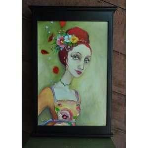 Cassandra Barney   Beauty Queen Original Oil Painting
