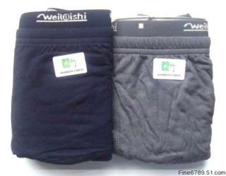 New Soft Cozy Bamboo Fibre Mens Briefs Boxer briefs Underwear 2PCS