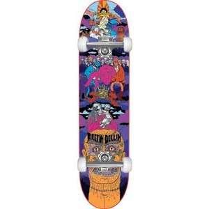 Baker Dollin Super Jack Complete Skateboard   8.0 W/Raw