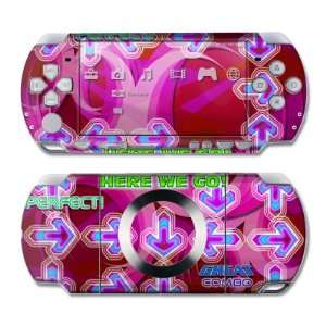 Dance Arcade Pink Design Skin Decal Sticker for the PS3