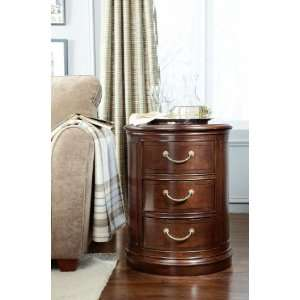 091 917   Cherry Grove New Generation Drum End Table