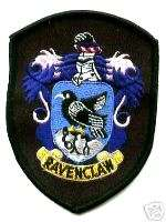 BRITISH PATCH HARRY POTTER HOUSE OF RAVENCLAW CREST