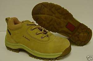 NEW Wheat DR MARTENS 0030 Steel Toe Shoes Womens 6