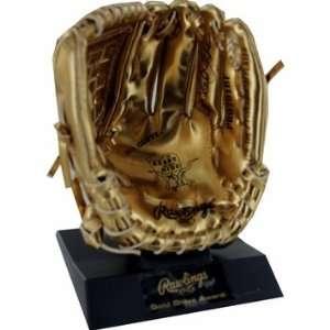 Derek Jeter Autographed Rawlings Miniature Gold Glove