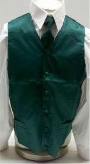 New Mens Green Dress Suit Vest Joker Halloween Costume Sizes S, M, L